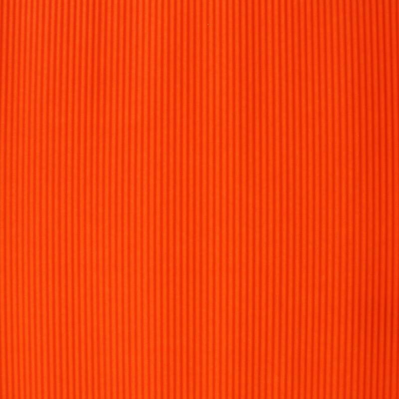 Pomarańczowy karbowany papier ozdobny