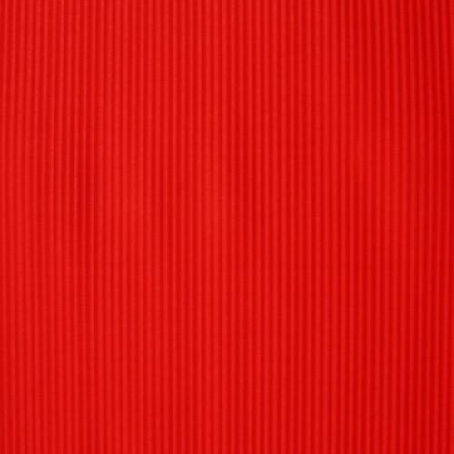Czerwony karbowany papier ozdobny