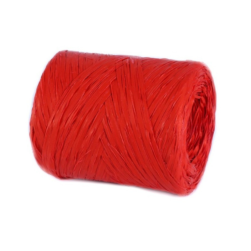 Rafia czerwona