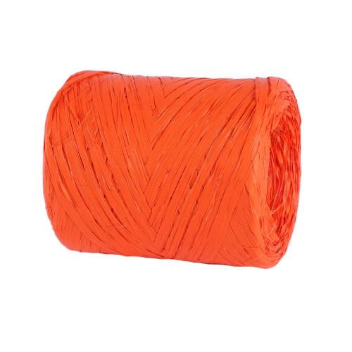 Rafia pomarańczowa