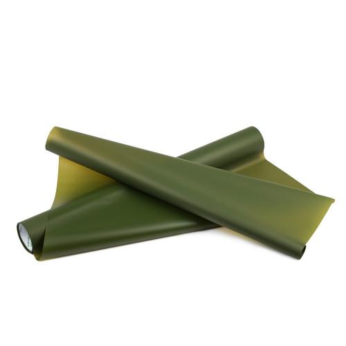 Folia satynowa - butelkowa zieleń
