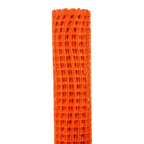 Sieć rybacka soczyście pomarańczowa