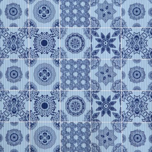 Papier ozdobny z motywem kafelków (azulejo)