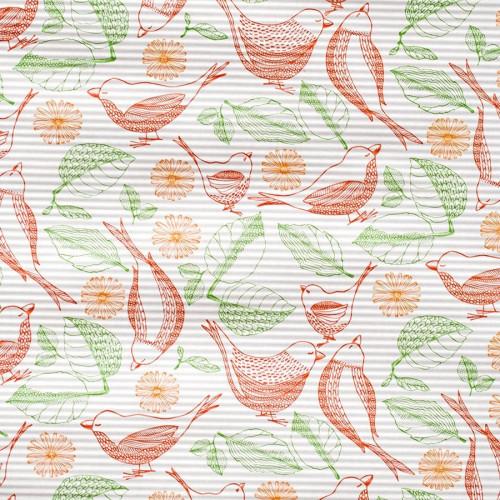 Papier karbowany ozdobny ze wzorem