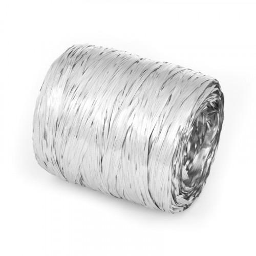 Rafia metalizowana srebrna