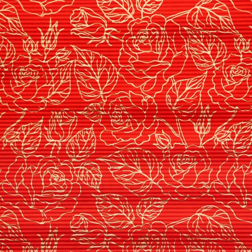 Papier rysowane róże