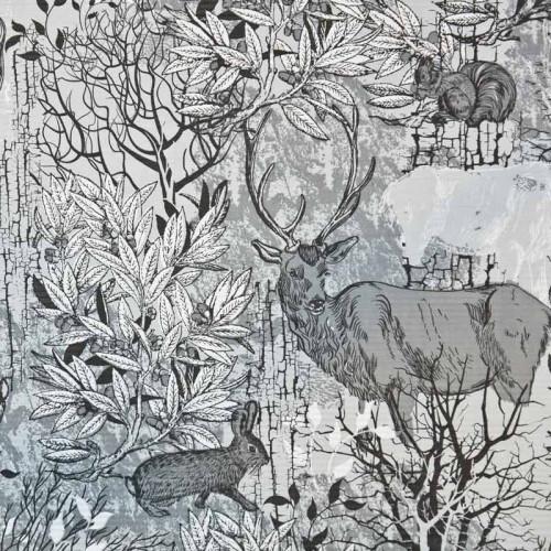 Papier leśne zwierzęta...