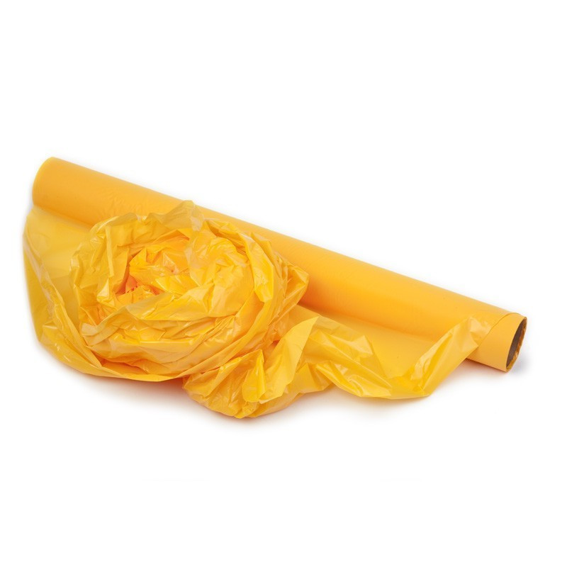 Folia miękka żółta