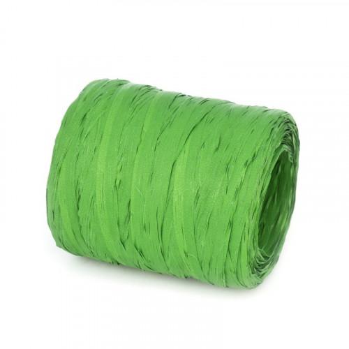 Rafia w odcieniu zielonym