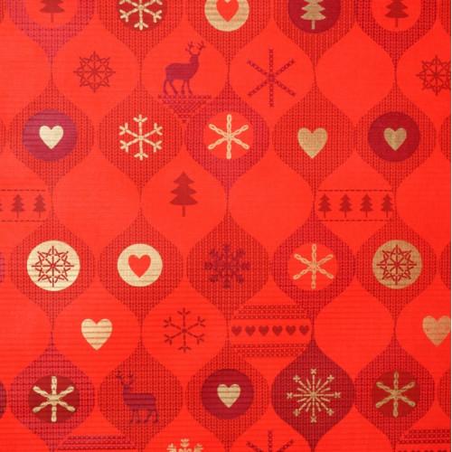Papier ze świątecznym motywem